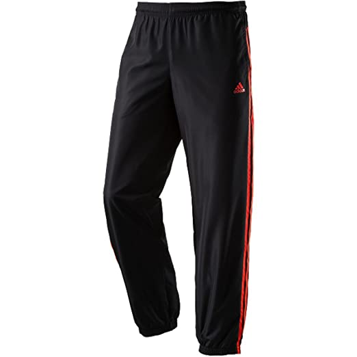 adidas Herren Hose Tentro Freizeithose Trainingshose Black