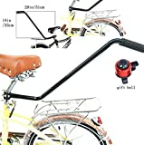 Essential-Mart Direct Children Cycling Bike Safety Trainer Handle Balance Push Bar Training Handle Learning Tool