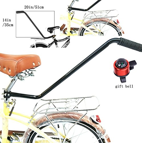 Essential Mart Children Cycling Bike Safety Trainer Handle Balance Push Bar with (Child Trainer)