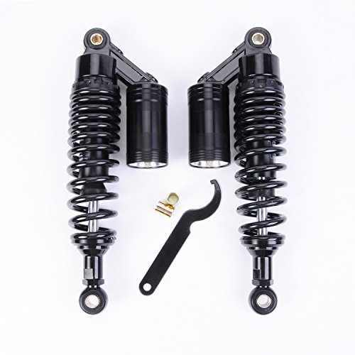 Wotefusi New Air Shock Absorbers Black 13