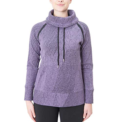 - Kirkland Signature Ladies' Jacquard Pullover (L, Purple)