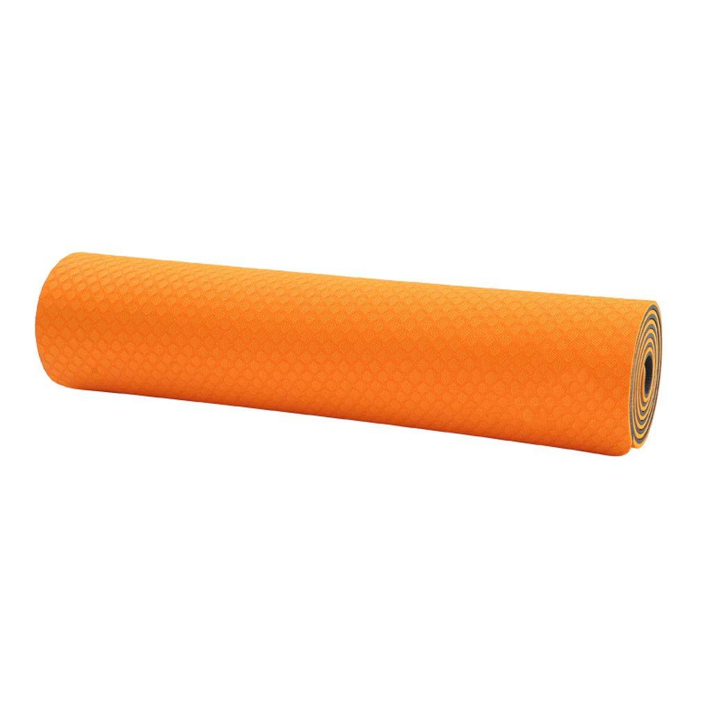 Orange ZHAO YING Tapis De Yoga Insipide-TPE-Slip-débutant-épaississement-élargissement-allongement 8mm