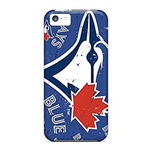 Best Cell-phone Hard Cover For Iphone 5c (ahN5556iHFR) Custom Beautiful Toronto Blue Jays Pattern