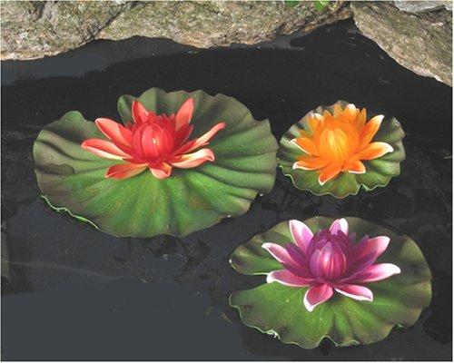 Plastic Lily Pads - 8
