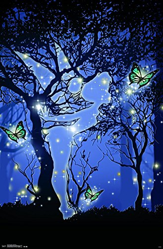 Trends International  Tinker Bell Silhouette Wall Poster 22.375