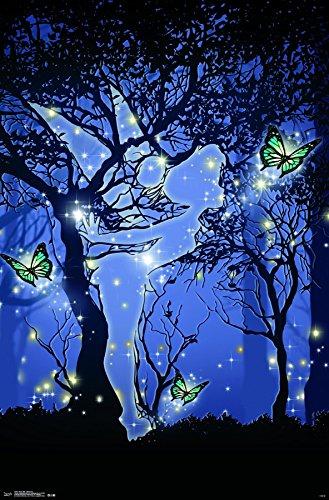 Trends International Tinker Bell Silhouette Wall Poster 22.375