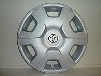 """Juego de 4 tapacubos para Toyota Yaris (I S) r 14"""" (Logotipo cromado"""