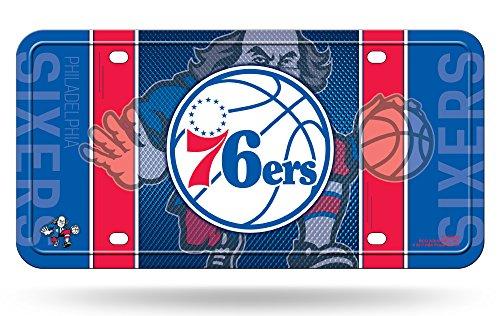 Philadelphia 76ers NEW DESIGN 90003 Metal Aluminum License Plate Tag Basketball