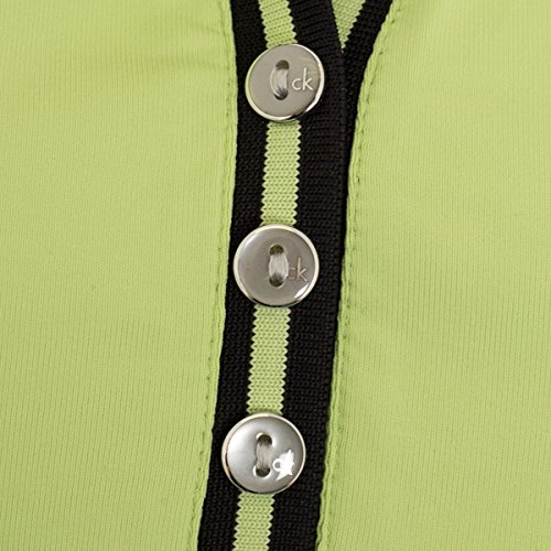 Calvin Klein - Camisa deportiva - para mujer Chartreuse