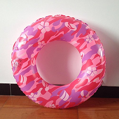 XG camouflage épaisse vie anneau natation gonflables bouée enfants adultes natation tours 80cm grands pour les adultes et les enfants plus âgés