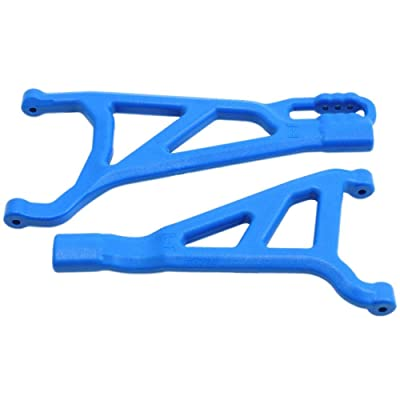 RPM Front Right A-arms Blue- E-Revo Brushless, RPM81465: Toys & Games