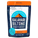 Biltong - Air Dried Beef, Zero Sugar -- Better than Jerky - 2 oz - 1 Pack (Original)