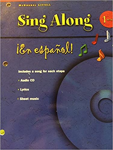 amazon com en español sing along grammar vocabulary songs cd