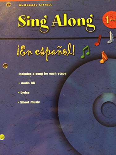 ¡En español!: Sing-along Grammar & Vocabulary songs (CD with booklet) Level 1 (Spanish Edition)