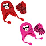 Disney Nickelodeon Mattel Girls Youth Hat and Gloves Set (Little Kid/Big Kid)