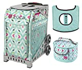 Zuca Sport Bag - Chevron with gift Lunchbox and Seat Cover