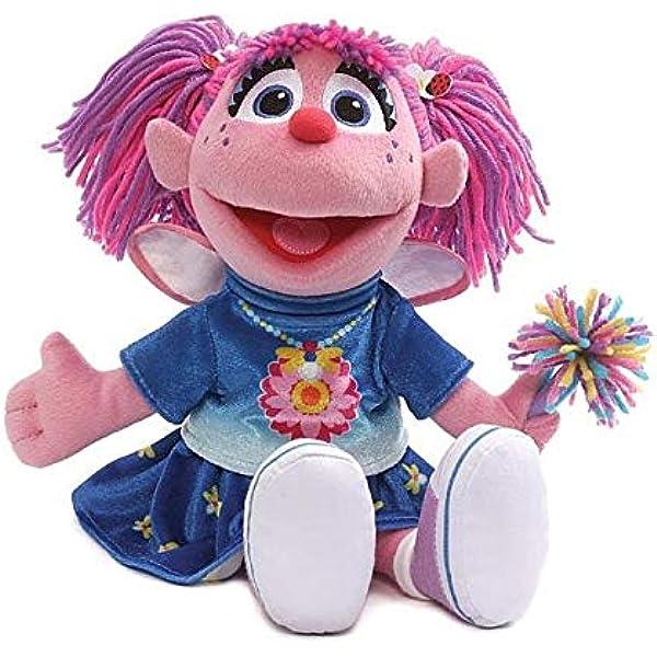 Abby Cadabby Pelúcia Gund Sesame Street Fairy Boneca Brinquedo 30cm