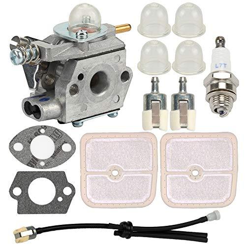 Anzac Walbro WT-424 Carburetor for Echo GT-2400 PPT-2400 PP-1250 SRS-2400 TT-24 SHC-2401 HCA-2400 Trimmer 12300052133