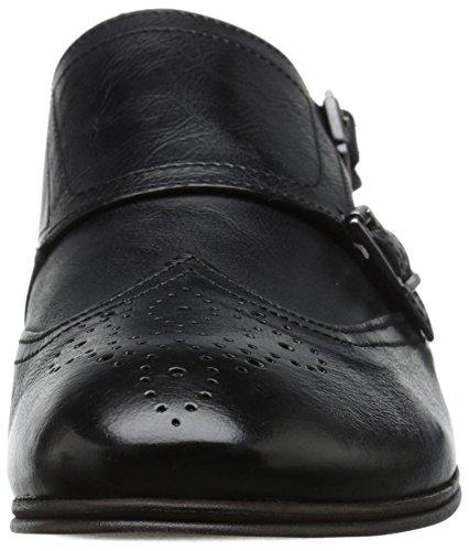 H Door Hudson Mens Welch Buffalo Dress Shoe Zwart