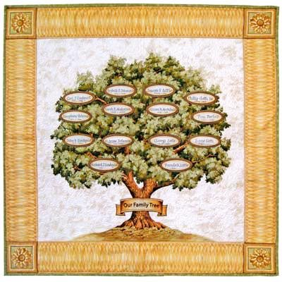 Family Tree Quilt Kit By The Each