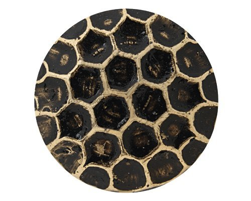 1000Pcs C.S. Osborne No. 6910-BL - Honey Comb Bronze Lacquered Nail Head Diameter is Approximately 7/16'' with 1/2'' Long Quality Steel Nails with Natural Brass Finish by C.S. Osborne (Image #1)