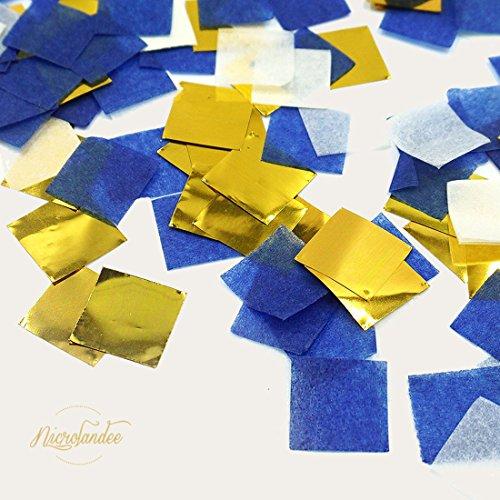 Nicrolandee Navy Blue Gold Party Decoration Kit Nautical Baby