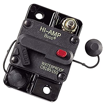 Bussmann CB185-150 150 Amp Type III Circuit Breaker: Car Electronics