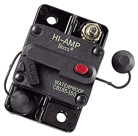 amazon com bussmann cb185 150 150 amp type iii circuit breaker car