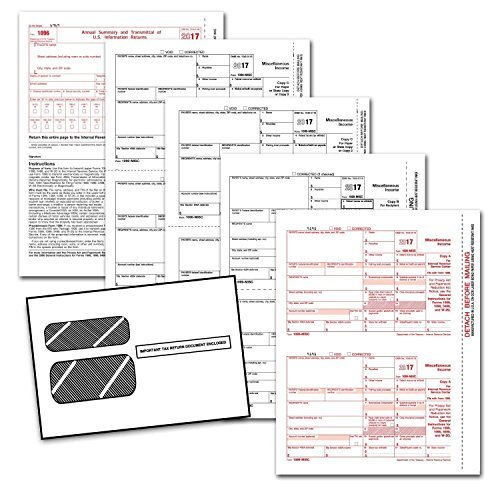 Complete Laser W-2 Tax Forms And W-3 Transmittal - Kit For 25 Employees ~6-Part~ All W-2 Forms with Self-Seal Envelopes in Value Pack | W-2 Forms