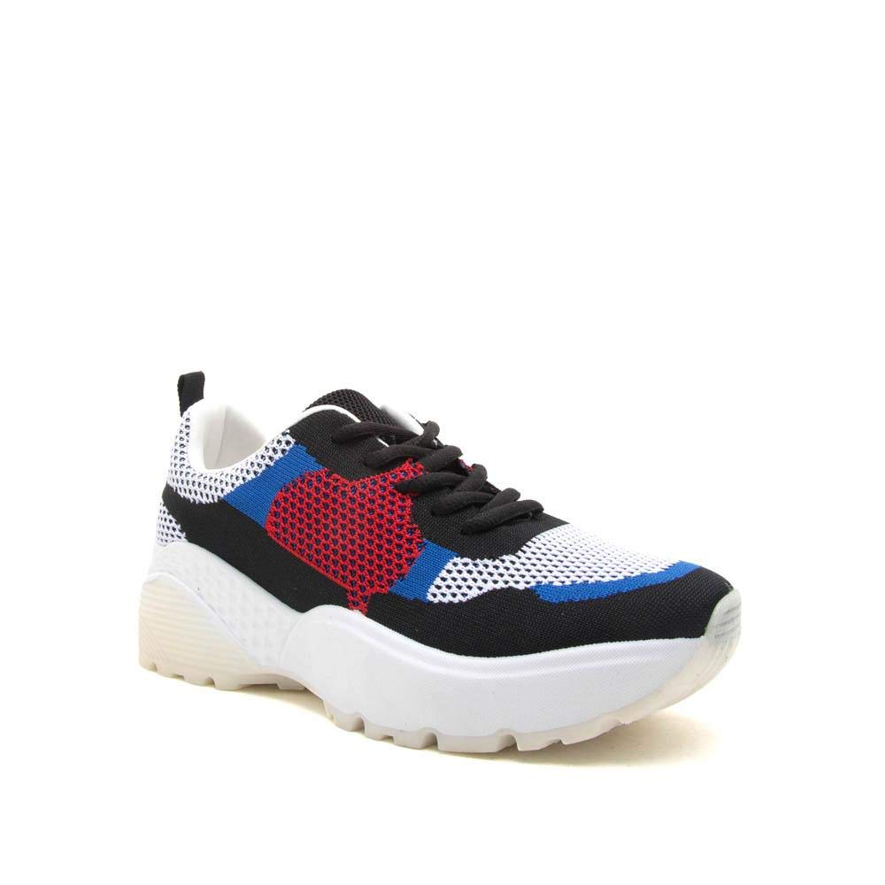 88cf8c3a6c382 Qupid Women's Colorblock Chunky Retro Dad Sneaker Shoe Trainers
