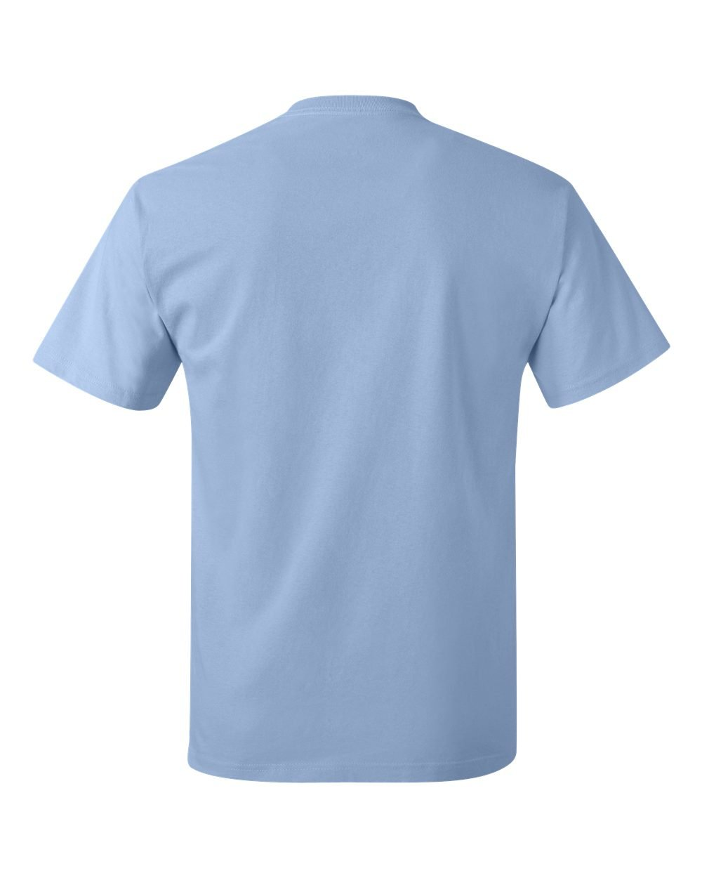 Hanes Tagless T-Shirt  S,LIGHT BLUE