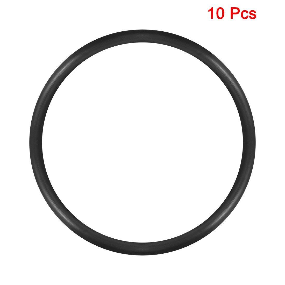 10 St/ück Nitrilgummi O-Ring Innendurchmesser 90 mm Au/ßendurchmesser 100 mm Breite 5 mm Dichtungsring rund
