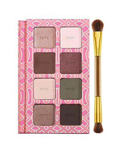 Tarte Cosmetics Eyeshadow Palette, Brains & Beauty - 8 Eyeshadows & Brush