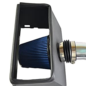 Performance Cold Air Intake Kit With Filter For 2011-2015 Ram 1500 & Ram 2500 & 2009-2010 Dodge Ram 1500 & Dodge Ram 2500 & 2009 Dodge Ram 3500 & 2011 Ram 3500 5.7L V8(Blue)