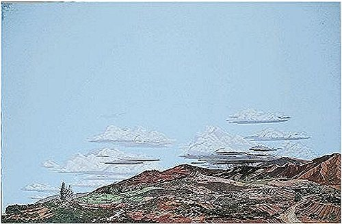 (Walthers, Inc. Instant Horizons Country to Desert Background Scene, 24 X 36 60 x 90cm )