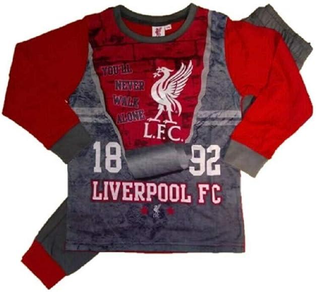 Liverpool F.C Boys Girls Kids Official Football Pyjamas Pjs Nightwear 4-5 Years