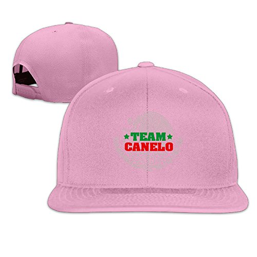 [LINNA Custom Unisex Mexican Boxing CA Player Snapback Baseball Hats Pink] (Dead Raven Costume)