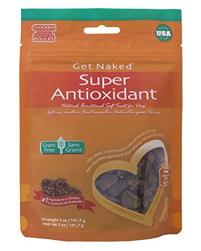 Get Naked 1 Pouch Super Antioxidant Soft Dog Treats, 5 Oz