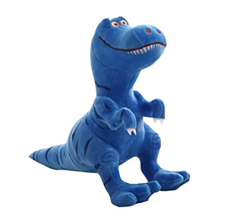 Amazon.com: (Small, Blue) 30cm Gifts International T-Rex Soft Dinosaur Plush Toy For Friend: Toys & Games