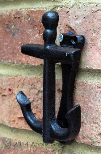 Anchor Front Door Knocker Cast Iron