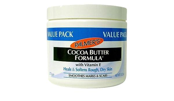 Amazon.com : Crema De Manteca De Cacao Para Las Manchas De La Cara Y Piel Con Vitamina E - Tratamiento - 13.25 Onzas : Beauty