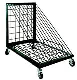 Sax Heavy Duty Vertical Drying and Storage Rack, 43-1/4 in H X 3-1/2 in W X 52-3/4 in L