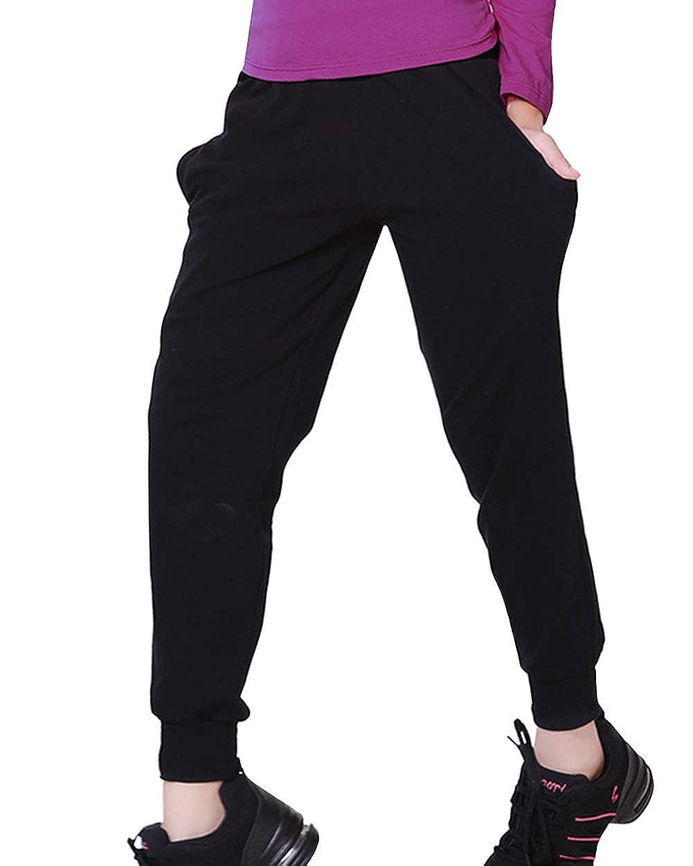Amazon.com: Happy Cherry Kids Boys Girls Baggy Elastic Pants ...