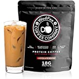 WodFee Protein Coffee | All Natural Whey Protein Coffee With 18G Of Protein Per Serving | No Artificial Sweeteners, NON GMO and Gluten Free | 37 Servings