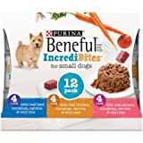Cheap Beneful IncrediBites (Beef, Chicken, & Salmon Variety Pack) – Wet Dog Food – 3oz cans (3 Box of 12)
