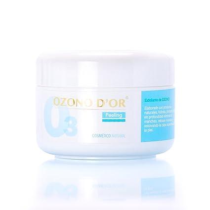 OZONO DOR. Peeling facial de Ozono. Exfoliante NATURAL, sin ...