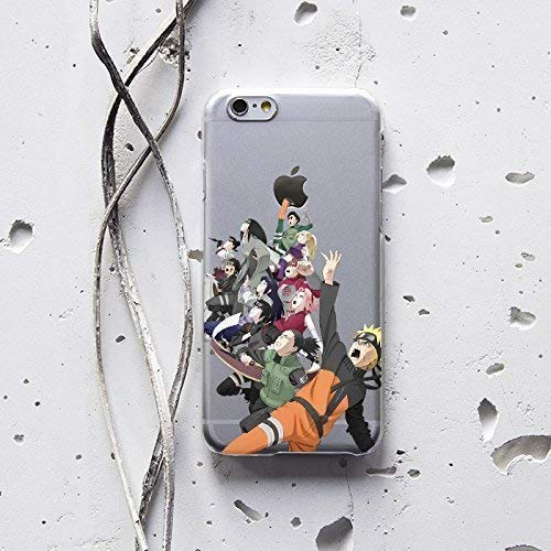 Naruto Shippuden Kakashi Akatsuki Case for Apple iPhone XR XS Max X 10 8 7 plus iPhone 6 6S plus iPhone 4 4S iPhone 5 5S 5C SE iPod Touch Protective Silicone Plastic Handmade Custom Case Cover AW1314 (Naruto Iphone 5c Case)