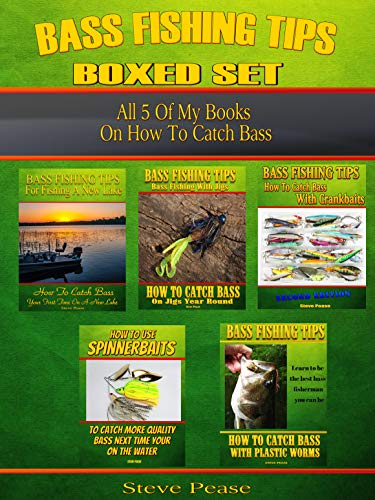 Bass Fishing Tips Boxed Set: All 5 of my books on how to catch bass ()