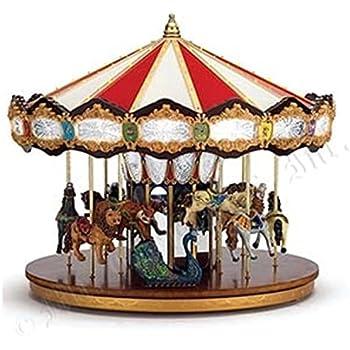 mr christmas animated musical grand jubilee carousel decoration 19751 - Christmas Carousel Decoration Outdoor