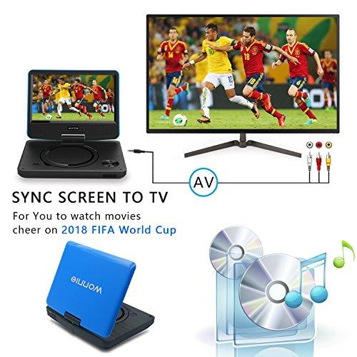 WONNIE Portbale DVD Player 9.5 inch